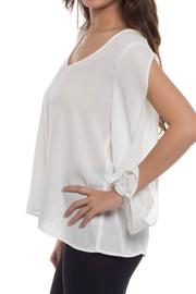 Shoptiques Product: Open Sleeve Blouse  - Front full body