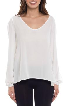 Coveted Clothing Open Sleeve Blouse - Product List Image