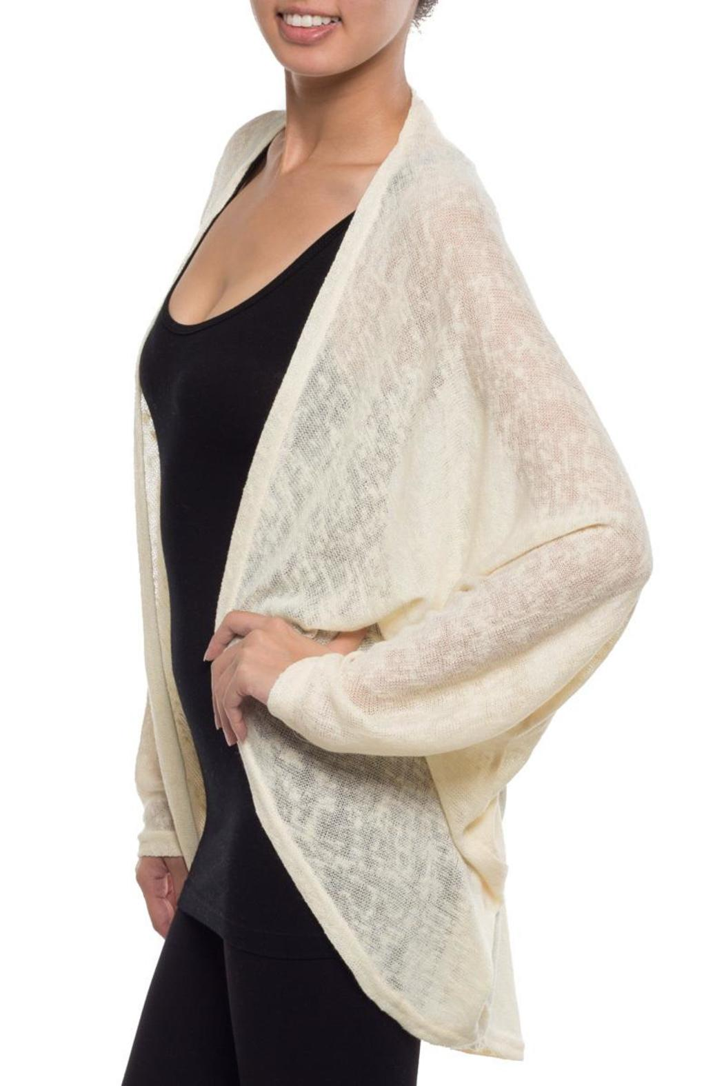 Coveted Clothing Oversize Dolman Cardigan - Front Full Image