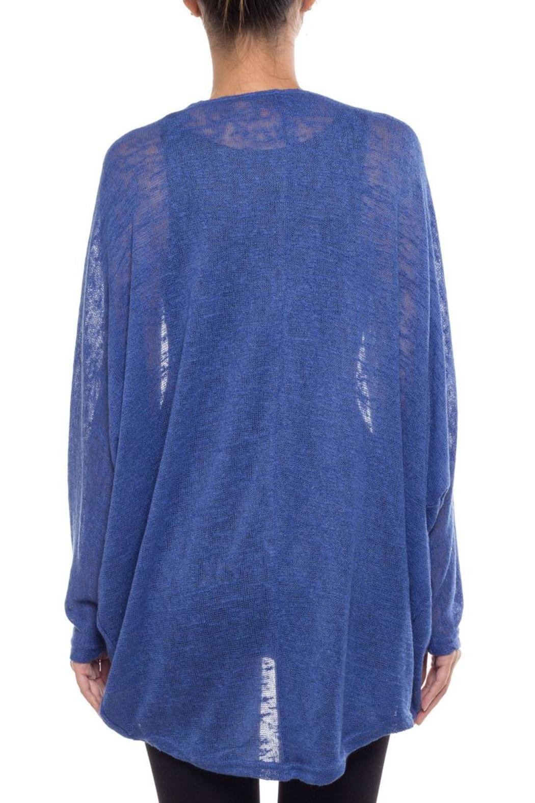 Coveted Clothing Oversize Dolman Cardigan - Side Cropped Image