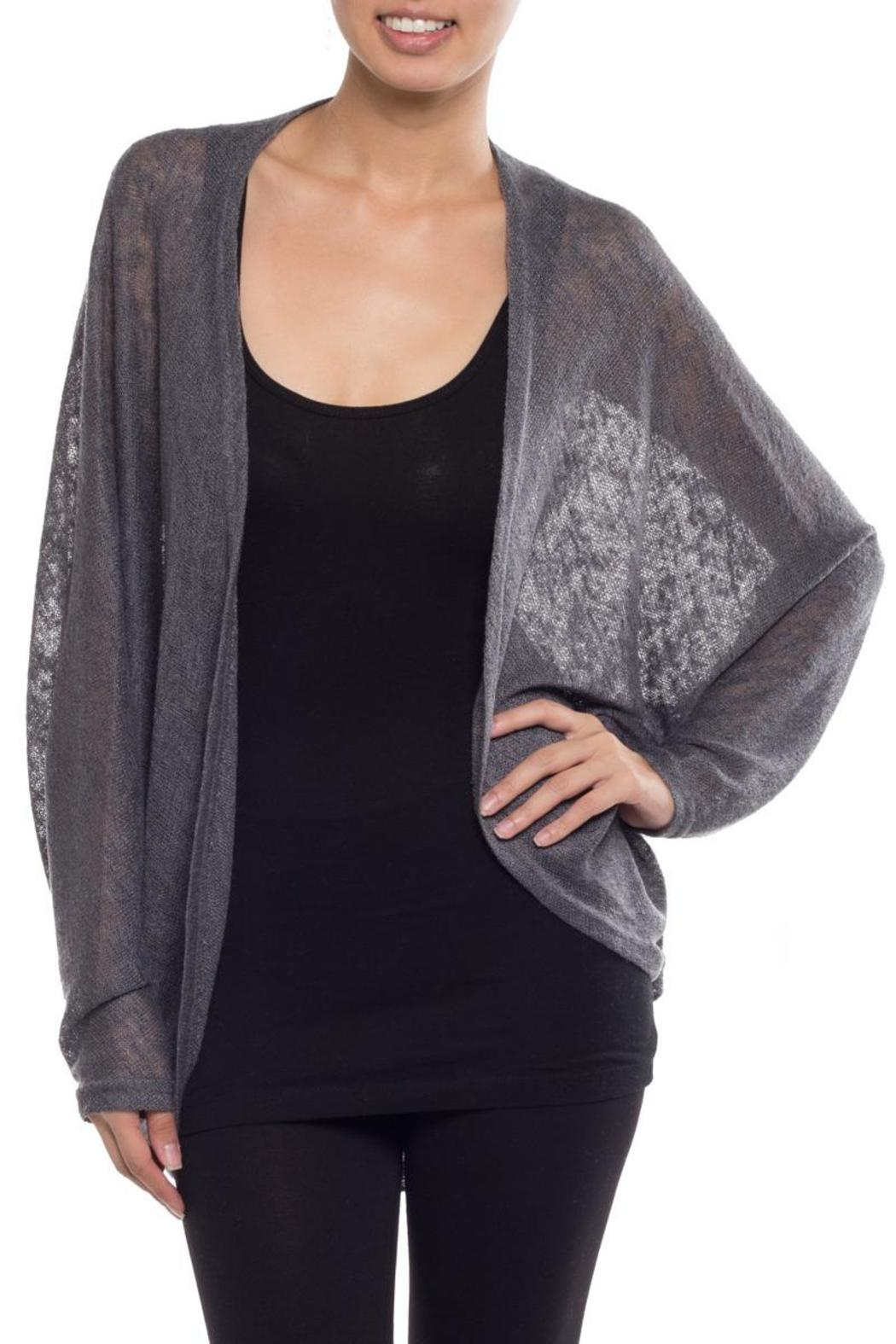Coveted Clothing Oversize Dolman Cardigan - Front Cropped Image