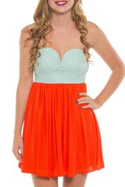 Coveted Clothing Strapless Stephanie Dress - Product Mini Image