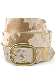 Anzell Cow Hair Belt - Product Mini Image