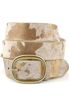 Anzell Cow Hair Belt - Product List Image