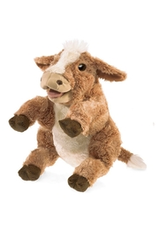 Folkmanis Cow Hand Puppet - Product Mini Image