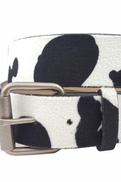 Anzell Cow print belt - Product List Image