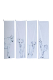 Creative Co-Op Cow Tea Towel - Product Mini Image
