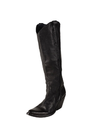 Keep Cowboy, Black, Heeled-Boot - Front full body