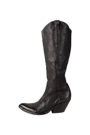 Keep Cowboy, Black, Heeled-Boot - Front cropped