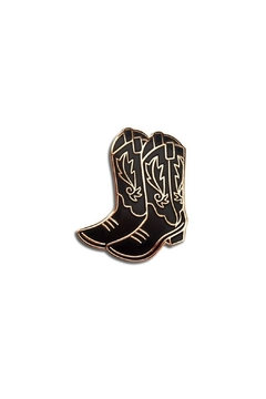 The Found Cowboy Boots Pin - Alternate List Image