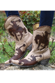 Old Gringo Cowboy Up Boot - Side cropped