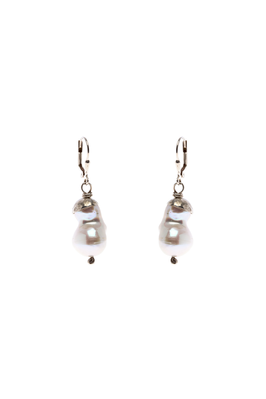 Cowgirl Chile Co. Jewelry Baroque Pearl Earrings - Main Image