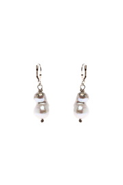 Cowgirl Chile Co. Jewelry Baroque Pearl Earrings - Product Mini Image