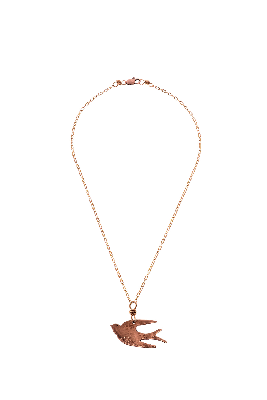 Cowgirl Chile Co. Jewelry Bird Necklace - Main Image