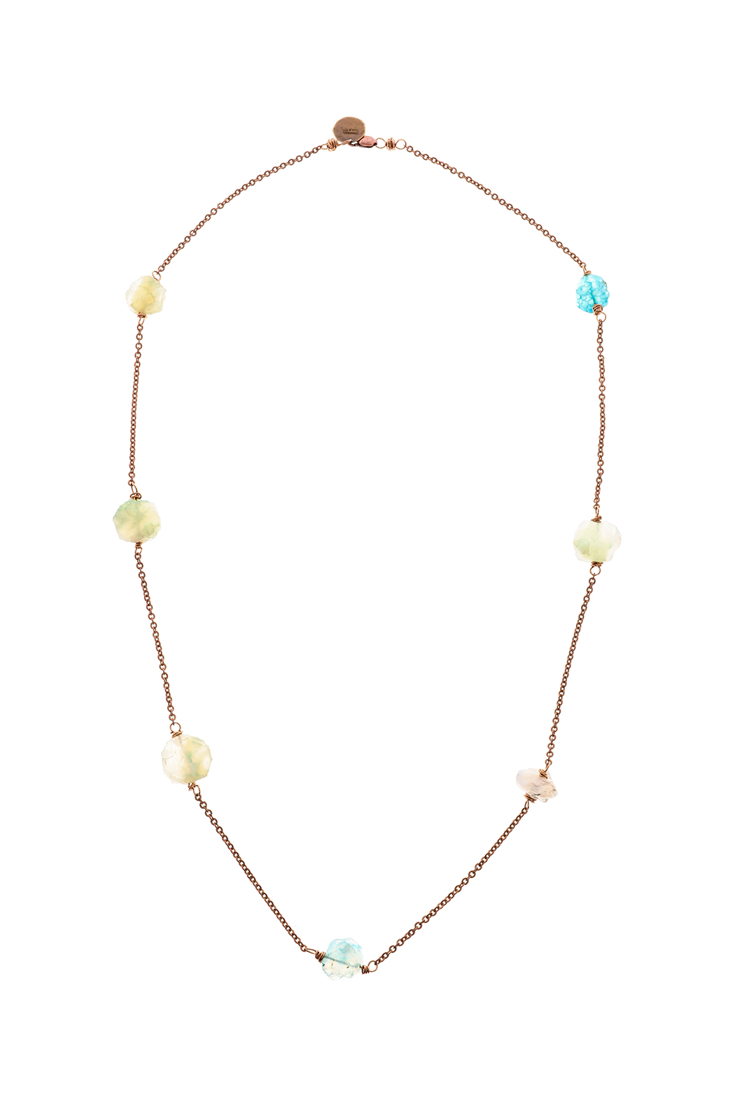 Cowgirl Chile Co. Jewelry Boho Station Necklace - Front Cropped Image