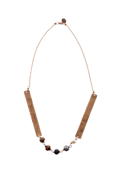 Shoptiques Product: Bronze Boho Necklace