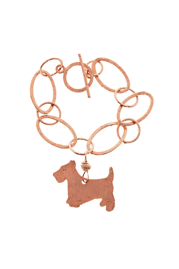 Cowgirl Chile Co. Jewelry Copper Terrier Bracelet - Main Image