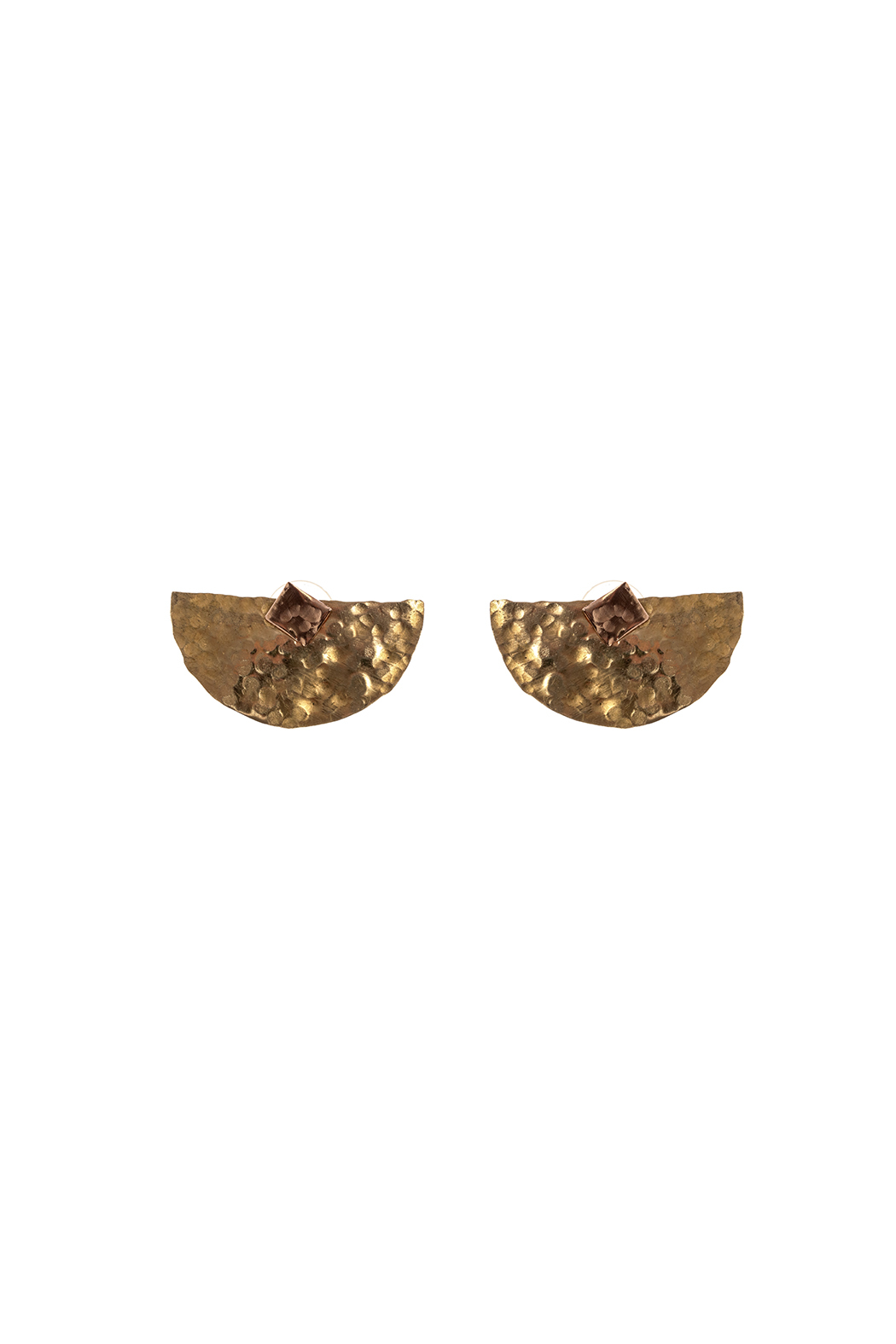 Cowgirl Chile Co. Jewelry Crescent Jacket Earrings - Front Cropped Image