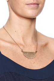 Cowgirl Chile Co. Jewelry Crescent Necklace - Back cropped