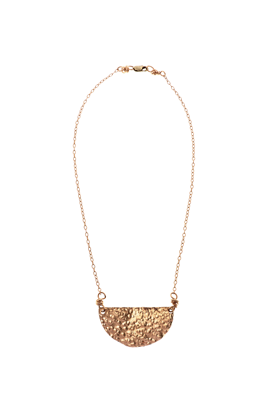 Cowgirl Chile Co. Jewelry Crescent Necklace - Main Image