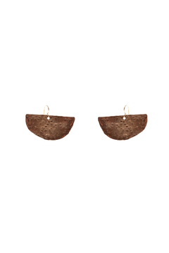 Cowgirl Chile Co. Jewelry Crescent Swing Earrings - Alternate List Image