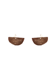 Cowgirl Chile Co. Jewelry Crescent Swing Earrings - Product Mini Image