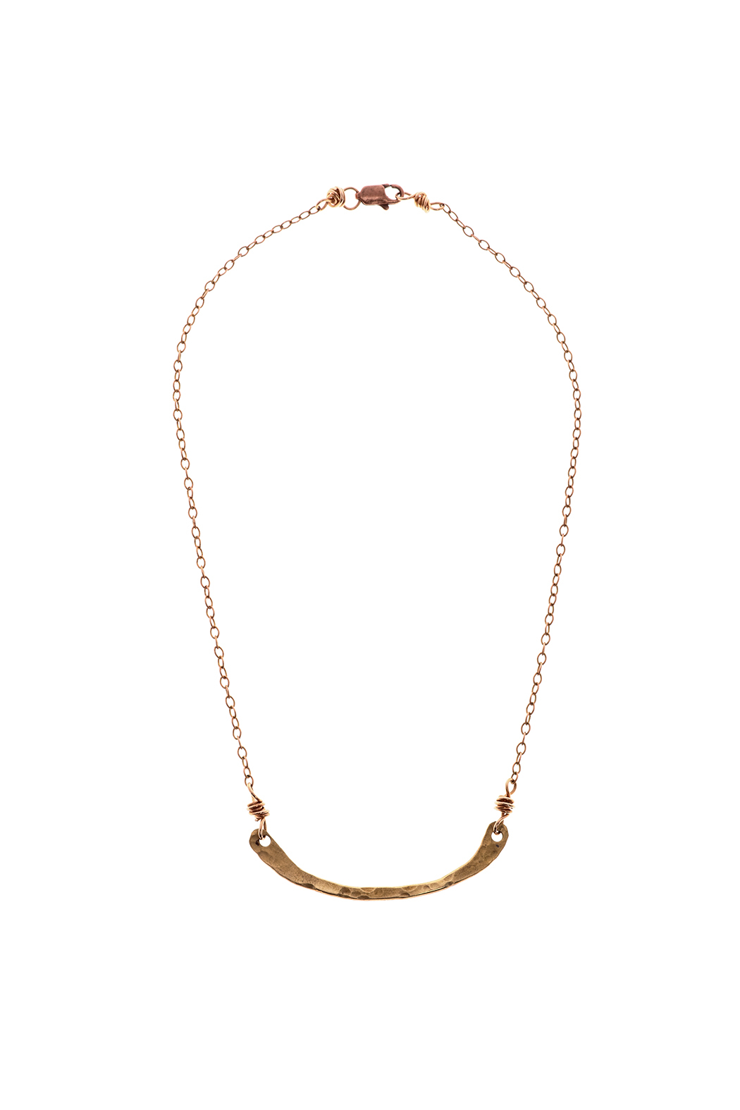 Cowgirl Chile Co. Jewelry Curve Stick Necklace - Front Cropped Image