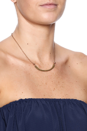 Cowgirl Chile Co. Jewelry Curve Stick Necklace - Back cropped