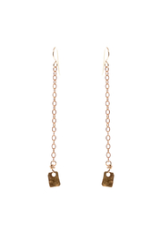 Cowgirl Chile Co. Jewelry Bronze Dance Earrings - Front cropped