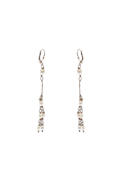 Shoptiques Product: Flotsam Pearl Earrings