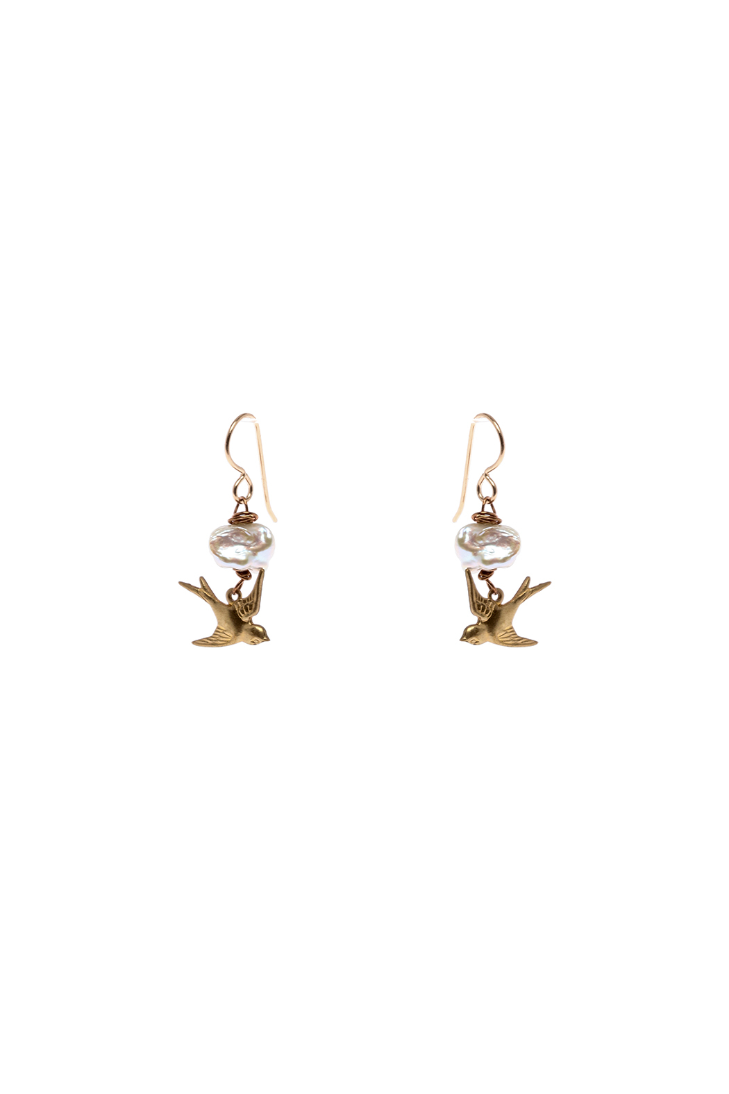Cowgirl Chile Co. Jewelry Flying Bird Earrings - Main Image