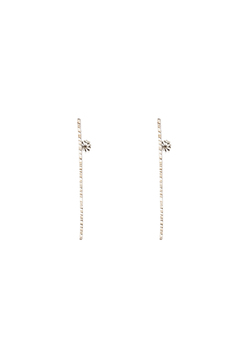 Shoptiques Product: Sterling Stick Earrings