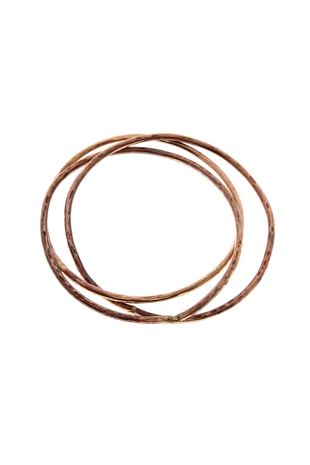 Cowgirl Chile Co. Jewelry Trois Bronze Bangles - Main Image