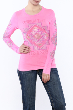 Shoptiques Product: Junior's Pink Tee