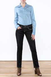 Cowgirl Tuff Straight Golden Jeans - Front full body