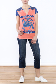 Cowgirl Tuff Wild Ride Tee - Front full body