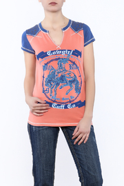 Cowgirl Tuff Wild Ride Tee - Product Mini Image