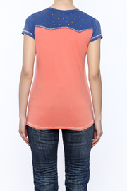 Cowgirl Tuff Wild Ride Tee - Back cropped