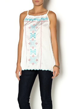 Cowgirl Up Aztec Sheer Tank - Product List Image