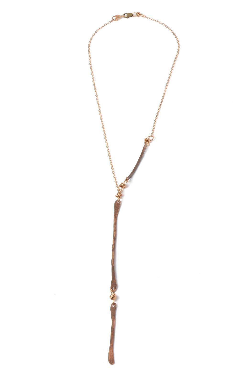 Cowgirl Chile Co. Jewelry Bronze Stick Necklace - Main Image