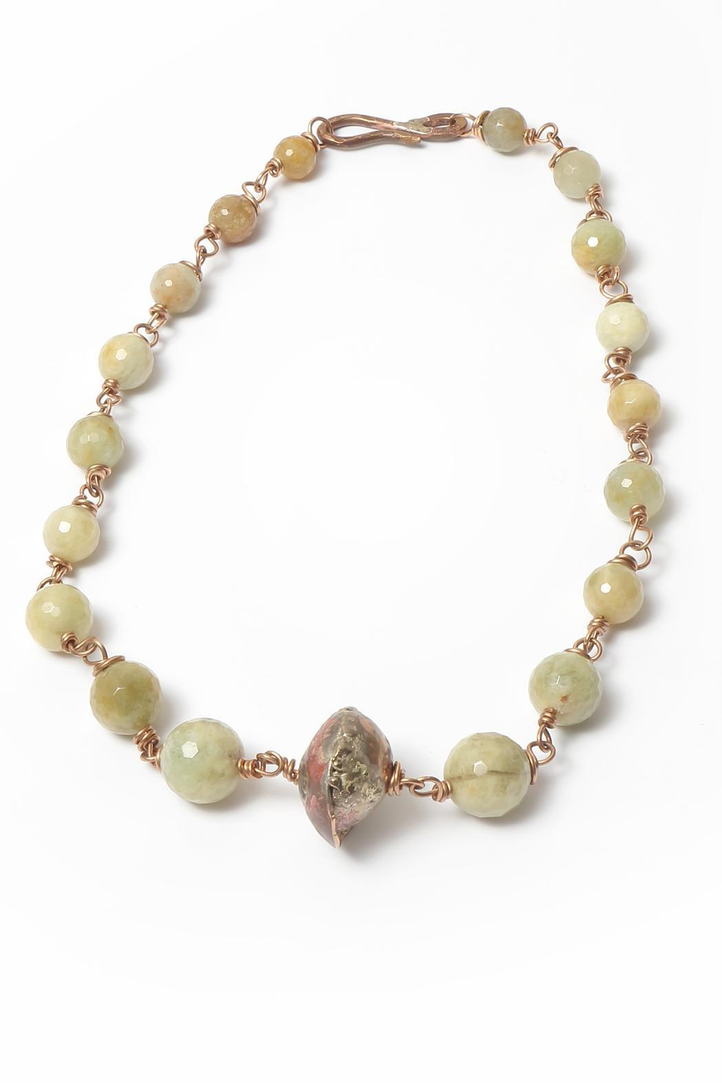 Cowgirl Chile Co. Jewelry Golden Beryl Necklace - Main Image