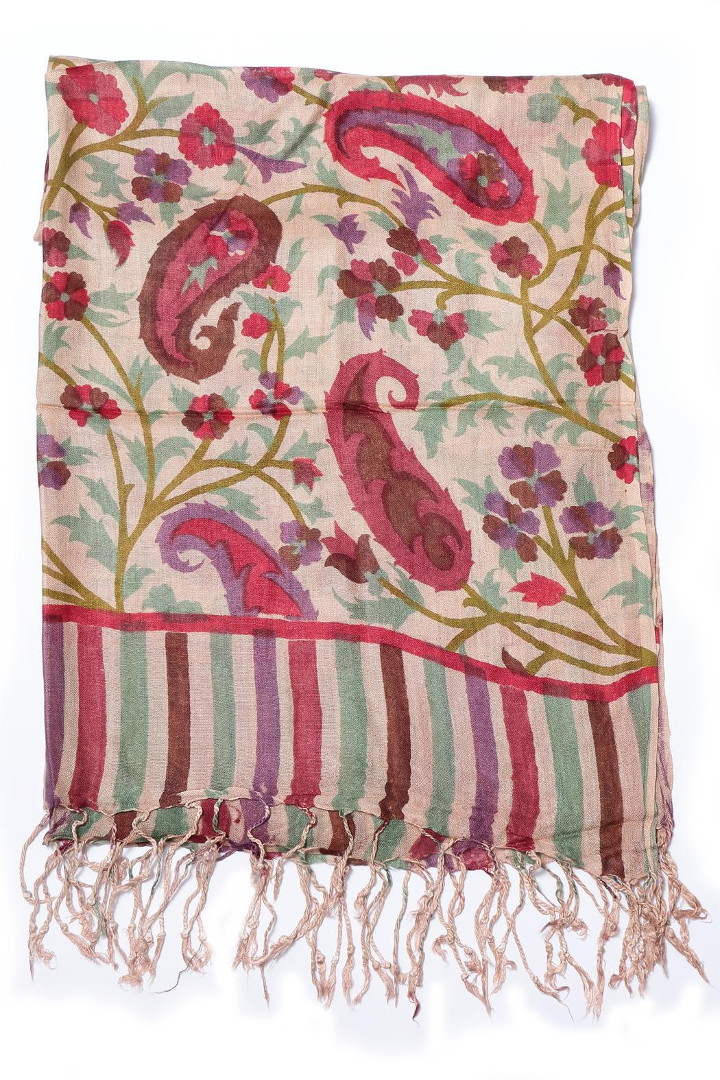 Cowgirl Chile Co. Jewelry Hand Printed Scarf - Front Full Image