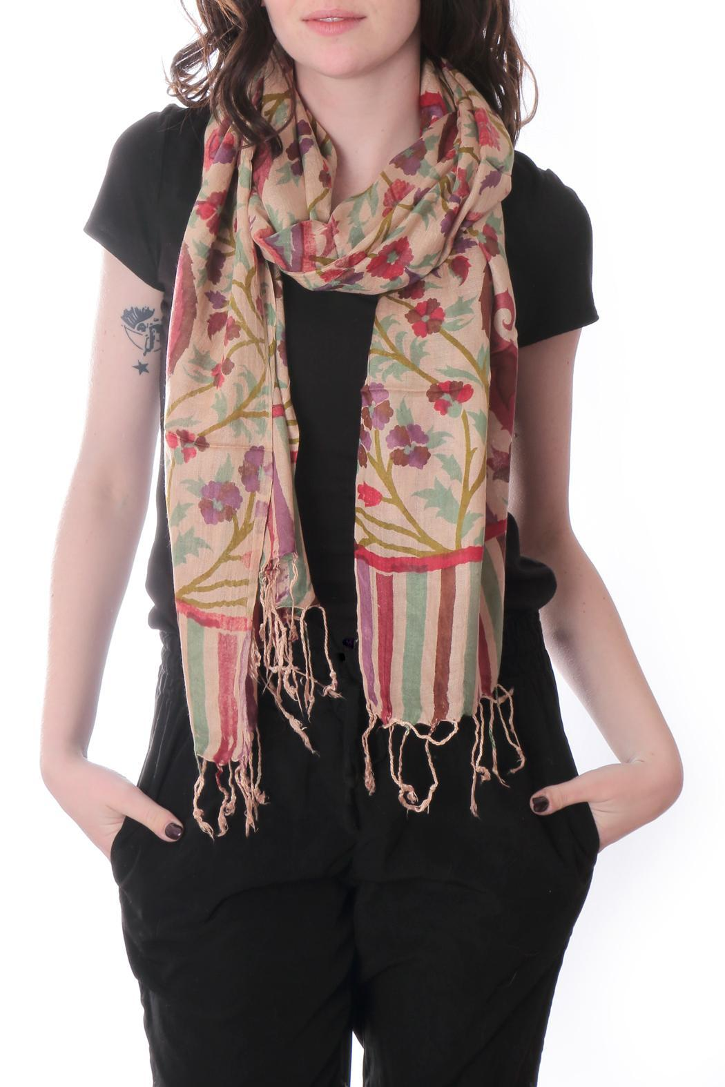 Cowgirl Chile Co. Jewelry Hand Printed Scarf - Main Image