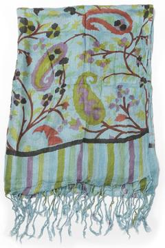 Shoptiques Product: Hand Printed Scarf