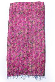 Cowgirl Chile Co. Jewelry Kantha Stitch Scarf - Front full body