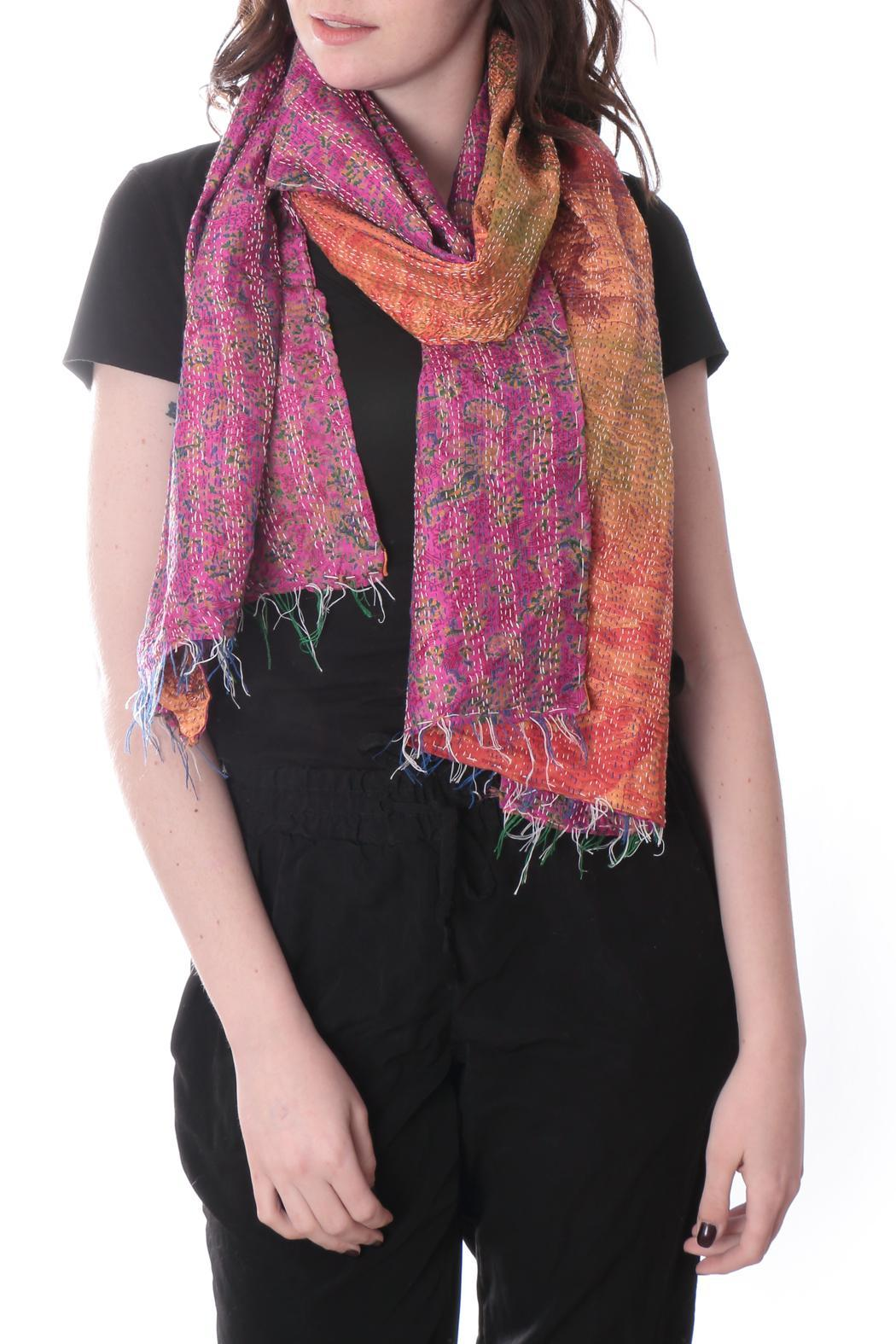 Cowgirl Chile Co. Jewelry Kantha Stitch Scarf - Main Image