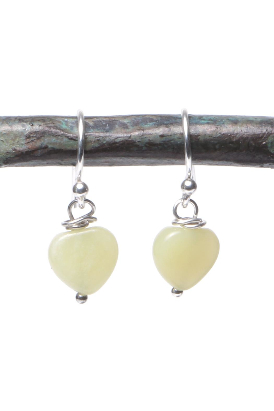 Cowgirl Chile Co. Jewelry Yellow Heart Earrings - Main Image