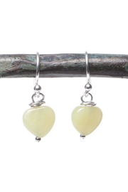Cowgirl Chile Co. Jewelry Yellow Heart Earrings - Product Mini Image