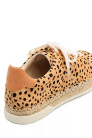 Dolce Vita Cowhide Leopardprint Sneaker - Side cropped