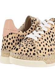 Dolce Vita Cowhide Leopardprint Sneaker - Other